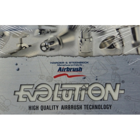 HARDER & STEENBECK 123013 Aérographe - Airbrush Evolution X Two in One