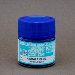 GUNZE Sangyo Mr Hobby Aqueous Color H465 Cobalt Blue