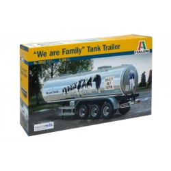 "ITALERI 3911 1/24 Classic Tanker Trailer ""We are family"""