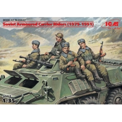 ICM 35637 1/35 Soviet Armoured Carrier Riders (1979-1991