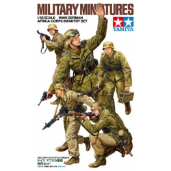 TAMIYA 35314 1/35 German Africa Korps Set