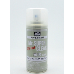 GUNZE Mr Hobby B-522 Mr Super Clear Varnish UV Cut Gloss 170ml