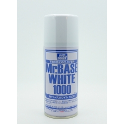 GUNZE B518 Mr. Base White 1000 Spray (180 ml)