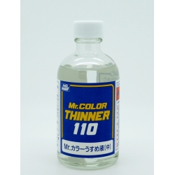 GUNZE Mr Hobby T-102 Mr Color Thinner 110 – 110ml