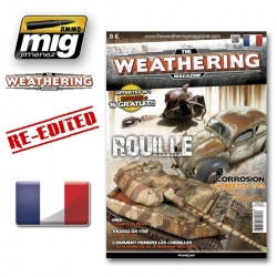 AMMO OF MIG A.MIG-4250 The Weathering Magazine 1 Rouille French