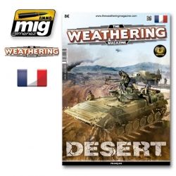 AMMO OF MIG A.MIG-4262 The Weathering Magazine Issue 13 Desert 13 French