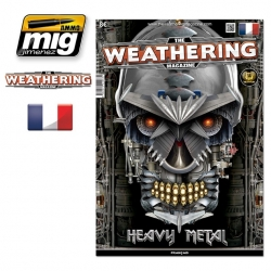 AMMO OF MIG A.MIG-4263 The Weathering Magazine Issue 14 Heavy Metal French