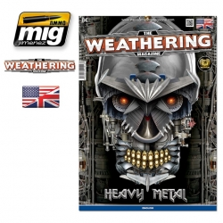 AMMO OF MIG A.MIG-4513 The Weathering Magazine Issue 14 Heavy Metal English