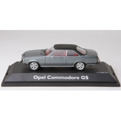 SCHUCO 02774 1/43 Opel Commodore B GS Gris
