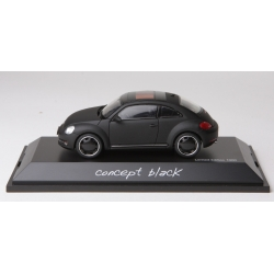 SCHUCO 07473 1/43 VW Beetle Coupé Concept Black