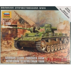 ZVEZDA 6162 1/100 Panzer III Flamethrower Tank