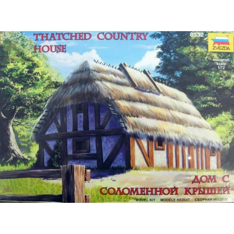 ZVEZDA 8532 1/72 European Tatched Country House