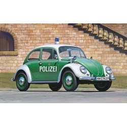 HASEGAWA 20251 1/24 VW Beetle Coccinelle Police Car version Belge
