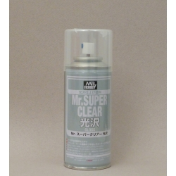 GUNZE Sangyo Mr Hobby B-513 Mr Super Clear Gloss Spray 170ml