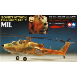 TAMIYA 60711 1/72 Soviet Attack Helicopter Mil