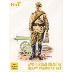 HaT 8080 1/72 WWI Russian Infantry Heavy Weapons HäT