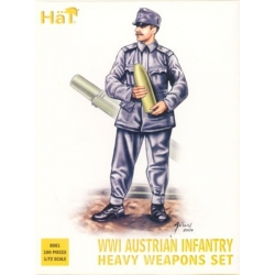 HaT 8081 1/72 WWI Austrian Infantry Heavy Weapons HäT