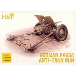 HaT 8149 1/72 German PaK 36 Anti-tank Gun HäT