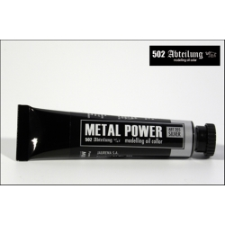 MIG Productions 502 Abteilung Oils ABT205 Metal Power Silver