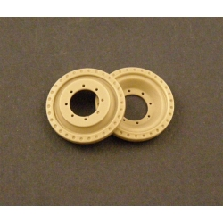 "PANZER ART RE35-032 1/35 Spare Wheels for "" Crusader"" Cruiser Tank"