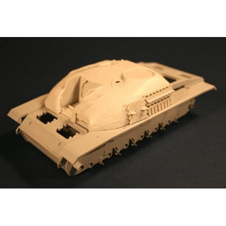 PANZER ART RE35-080 StuG III G upper Hull with concrete armor