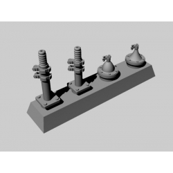 PANZER ART RE35-219 1/35 No19 British Antenna set for AFV