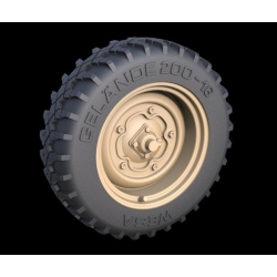 PANZER ART RE35-266 Schwimmwagen offroad wheels