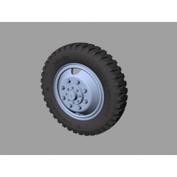 PANZER ART RE35-321 Mercedes LG 3000 Road Wheels (Gelande Pattern)