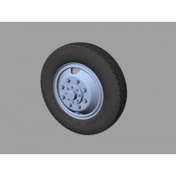 PANZER ART RE35-322 Mercedes LG 3000 Road Wheels (Commercial Pattern)