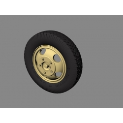 "PANZER ART RE35-329 Road Wheels for Ford ""Maultier"" (Commercial Pattern)"