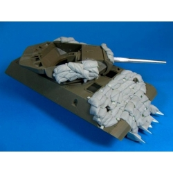 "PANZER ART RE35-175 1/35 ""Heavy"" Sand Armor for M10 ""Wolverine"" Tank Destroyer"