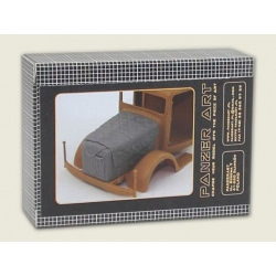 PANZER ART RE35-251 Bussing-NAG 4500 engine deck with winter Canvas