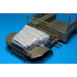 PANZER ART RE35-278 1/35 Dodge 3/4 engine deck with winter Canvas