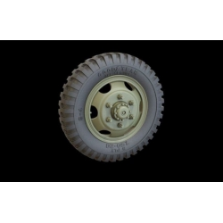 PANZER ART RE35-318 Studebacker Road Wheels set IGoodyear)