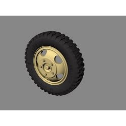 "PANZER ART RE35-328 Road Wheels for Ford ""Maultier"" (Gelande Pattern)"