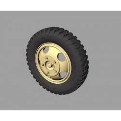 PANZER ART RE35-332 Ford 3000 Road Wheels (Gelande pattern)