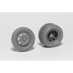 PANZER ART RE35-351 1/35 KHD 3000S Road wheels (Gelande pattern)