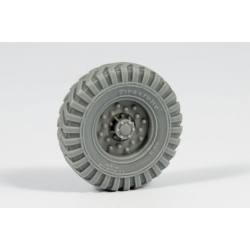 PANZER ART RE35-355 1/35 Chevrolet LRDG Road wheels (Firestone)