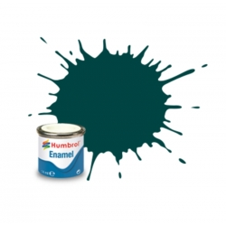 HUMBROL Peinture Enamel 239 British Racing Green Gloss 14ml