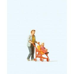 SCALEXTRIC MICRO G102 1/64 Straight 22,86cm 2pcs