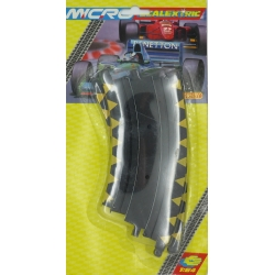 SCALEXTRIC MICRO G104 1/64 Banked Curve 15,24cm 2pcs