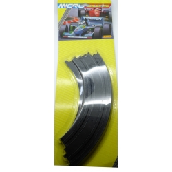 SCALEXTRIC MICRO G105 1/64 Curve 30,48cm 2pcs