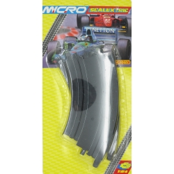 SCALEXTRIC MICRO G106 1/64 Courbes – Curve Track 45° 15,24cm 2pcs