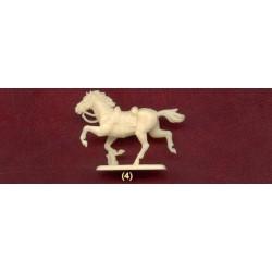 Preiser 10150 Figurines HO 1/87 Chevaux - Horse