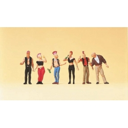 Preiser 10473 Figurines HO 1/87 Punks