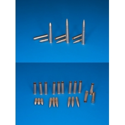 Scale Model Part 35P20 1/35 Ammo for 75mm M2/M3 & OQF Mk V