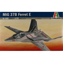 "ITALERI 162 1/72 MIG 37B ""Ferret E"" Stealth Fighter"