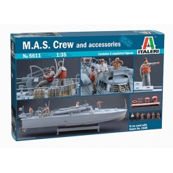 ITALERI 5611 1/35 M.A.S. Crew and Accessories