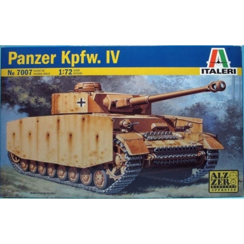 ITALERI 7007 1/72 Panzer Kpfw. IV