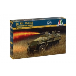 ITALERI 7067 1/72 Sd.Kfz. 251/16 Flammpanzerwagen